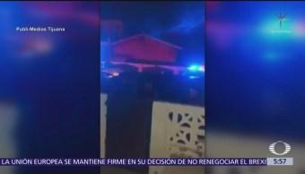 Policías de Baja California irrumpen en vivienda sin orden de cateo