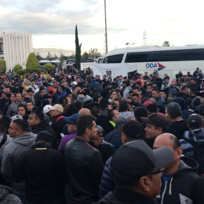 Policías federales protestan por asignación a Guardia Nacional; toman Centro de Mando