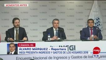 Presentan informe sobre ingresos y gastos en los hogares mexicanos