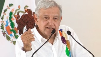Foto: El presidente Andrés Manuel López Obrador realiza la visita número 22 a hospitales rurales del IMSS Bienestar, el 27 de julio de 2019 (Presidente.gob.mx)