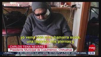 FOTO: Presidente municipal se disfraza para detectar abusos en Chihuahua