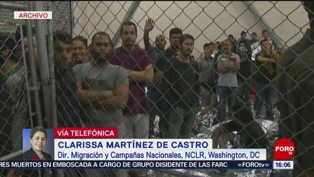 FOTO: Pueblo de EU se da cuenta de mal trato a migrantes: Clarissa Martínez de Castro, 14 Julio 2019
