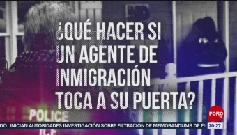 Foto: Qué Hacer Agente Migración Toca Puerta 12 Julio 2019