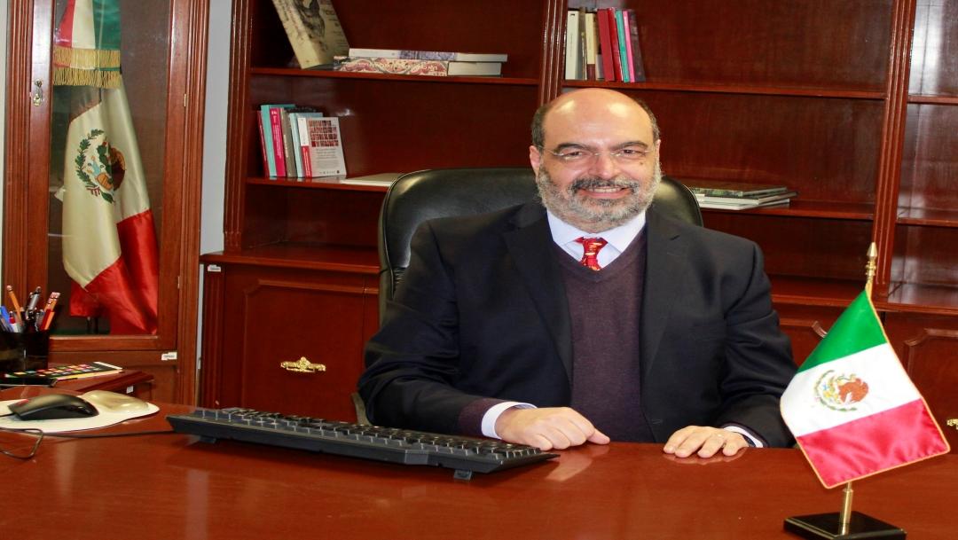 Carlos Javier Echarri Cánovas, titular de Conapo. (Twitter)