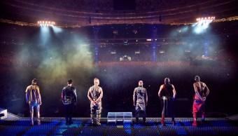 Concierto de Rammstein en Rusia.