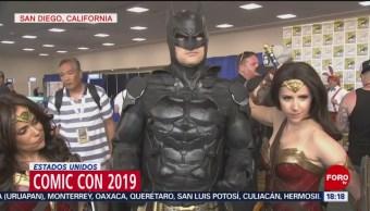 FOTO: Realizan el Comic-Con 2019, en San Diego, 21 Julio 2019