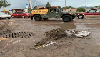 Foto Realizan limpieza en Tlajomulco de Zúñiga tras lluvias 22 julio 2019