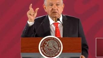Rechaza AMLO que exista algún riesgo para su gobierno por parte de la oposición