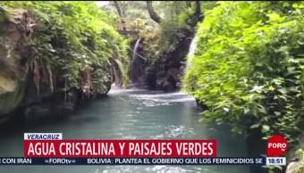 Reserva ecológica en Veracruz recibe a los turistas