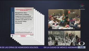 Revelan condiciones de mujeres migrantes en centros de detención de EU
