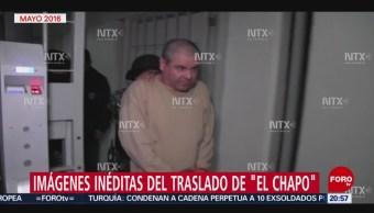 Foto: Video Inédito Traslado 'El Chapo' Guzmán 17 Julio 2019