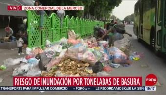 Foto: Inundaciones CDMX Riesgo Toneladas Basura 2 Julio 2019