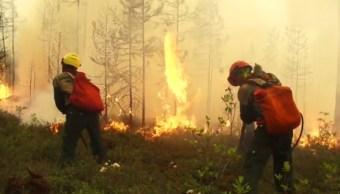 Foto: Incendios forestales en Rusia, 26 de julio de 2019