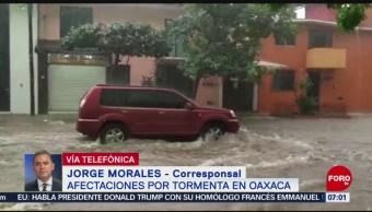 Saldo blanco tras tormenta registrada en Oaxaca