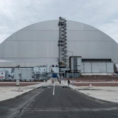 Ucrania inaugura nuevo sarcófago sobre reactor nuclear accidentado de Chernobyl