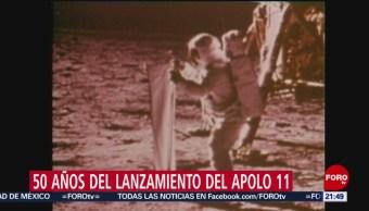 Foto: Se Cumplen 50 Años Lanzamiento Apolo 11 15 Julio 2019