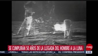 FOTO: Se cumplirán 50 años de la llegada del hombre a la Luna, 14 Julio 2019