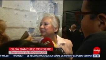 FOTO: Se defenderá a connacionales: Olga Sánchez Cordero, 13 Julio 2019