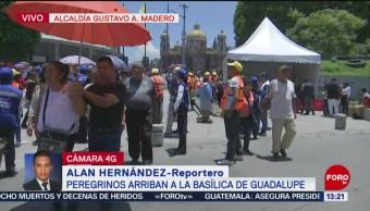 FOTO: Se realizan cierres viales por llegada de peregrinos a la Basílica, 28 Julio 2019