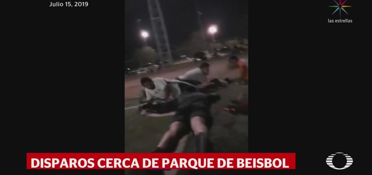 Foto: Video Balacera Estadio Béisbol Sonora Empalme 16 Julio 2019