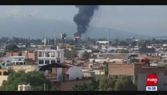 Se registra explosión en ducto de Pemex, en Guanajuato