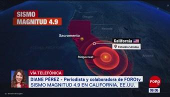Se registra nuevo sismo en California