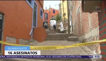 Se registran 16 asesinatos en Guanajuato en menos de 24 horas