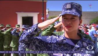 Sedena realiza flashmob en la Guelaguetza, Oaxaca