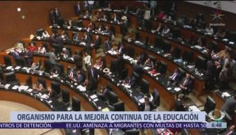 Senado conforma el organismo para la Mejora Continua de la Educación