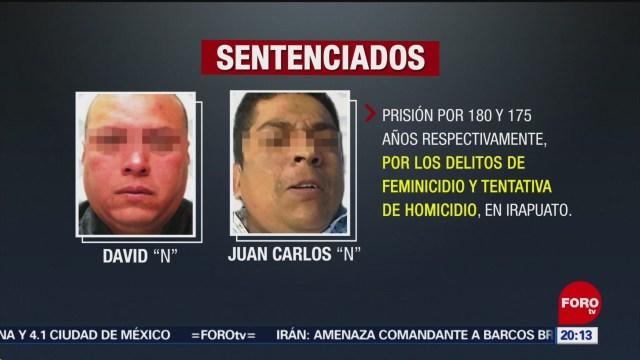 FOTO: Sentencian a responsables de asesinar a policía en Irapuato, 6 Julio 2019