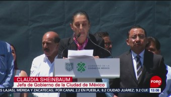 FOTO: Sheinbaum presenta informe por 200 días de gobierno, 21 Julio 2019