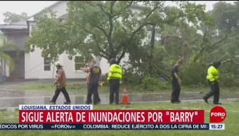 "FOTO: Sigue alerta de inundaciones por ""Barry"", 14 Julio 2019"