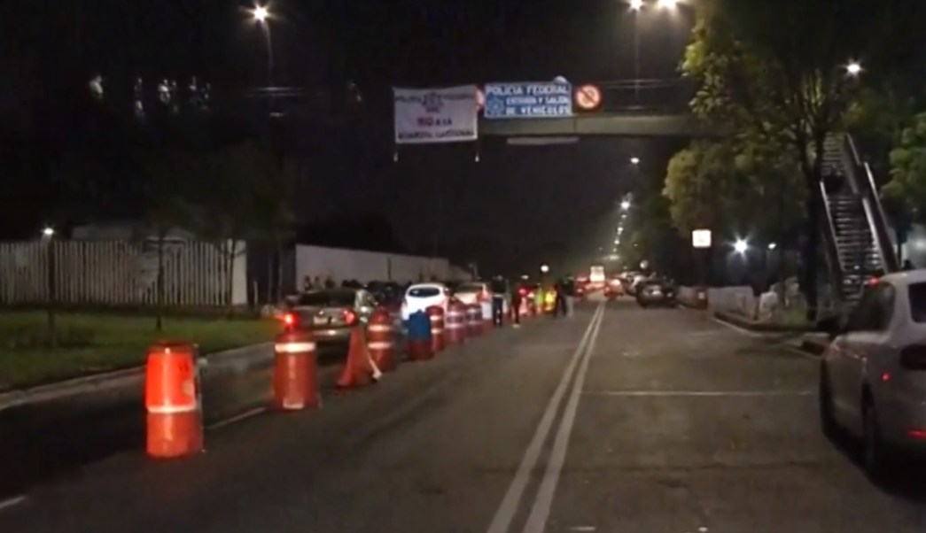 FOTO Se prevén nuevas manifestaciones de policías federales y organizaciones sociales en CDMX (Noticieros Televisa)