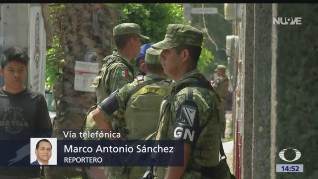 Siguen los operativos de la Guardia Nacional en la alcaldía Iztapalapa