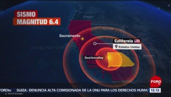 FOTO: Sismo daña algunas estructuras en California