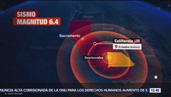 FOTO: Sismo en California es percibido en Tijuana