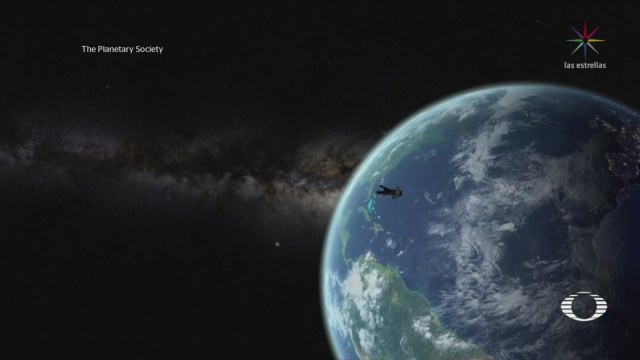 Foto: Sistema Velas Espaciales Envía Fotografías Tierra