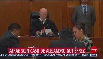 Foto: Suprema Corte Caso Alejandro Gutiérrez Chihuahua 10 Julio 2019