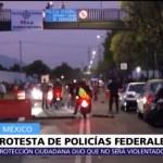 Suspenden mesa de diálogo en la Policía Federal