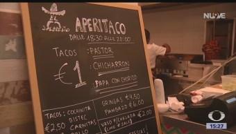 Taquería mexicana abre en Roma, Italia