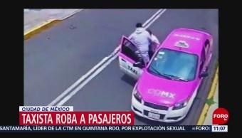Taxista roba a pasajeros en silla de ruedas en CDMX