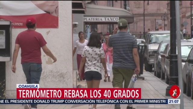 Foto: Termómetro Temepartaura Clima Coahuila 11 Julio 2019