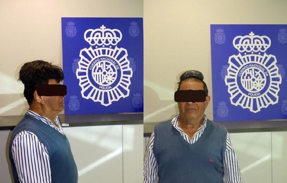 Transporta cocaína bajo peluquín y lo detienen en España.