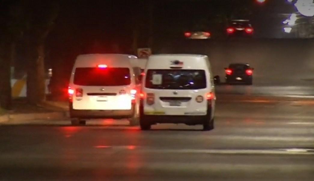 Detienen a dos presuntos asaltantes de transporte público en Coacalco
