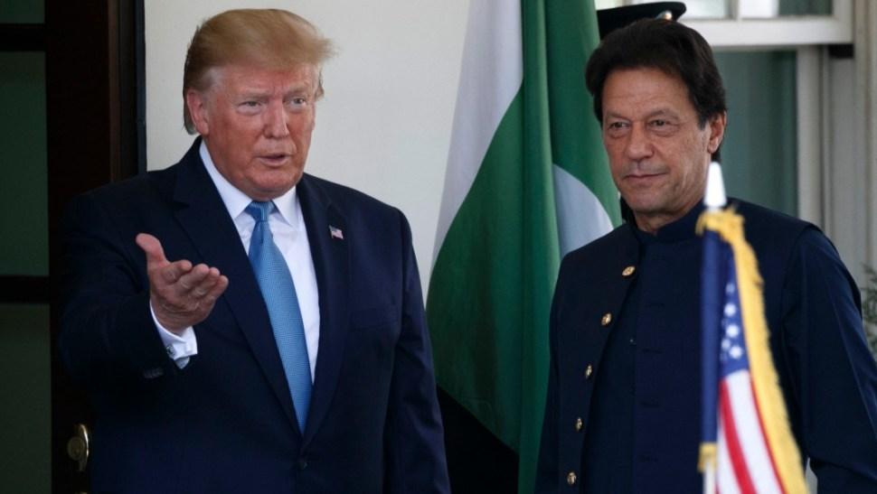 Foto: Trump y el primer ministro de Pakistán, Imran Khan, 22 de julio de 2019, Washington