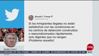 Foto: Trump Migrantes Estados Unidos Centros Detencion 3 Julio 2019