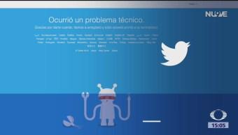 FOTO: Twitter se cae a nivel mundial