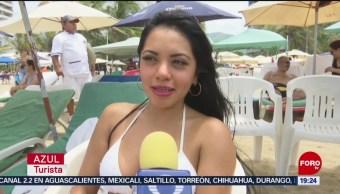 FOTO: Vacacionistas disfrutan verano en Acapulco, 20 Julio 2019
