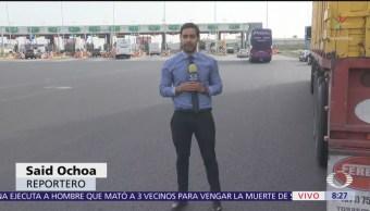 Vialidad transcurre con normalidad en Autopista México-Pachuca