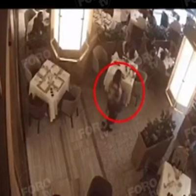 VIDEO: Así fue el ataque dentro de restaurante en Plaza Artz Pedregal
